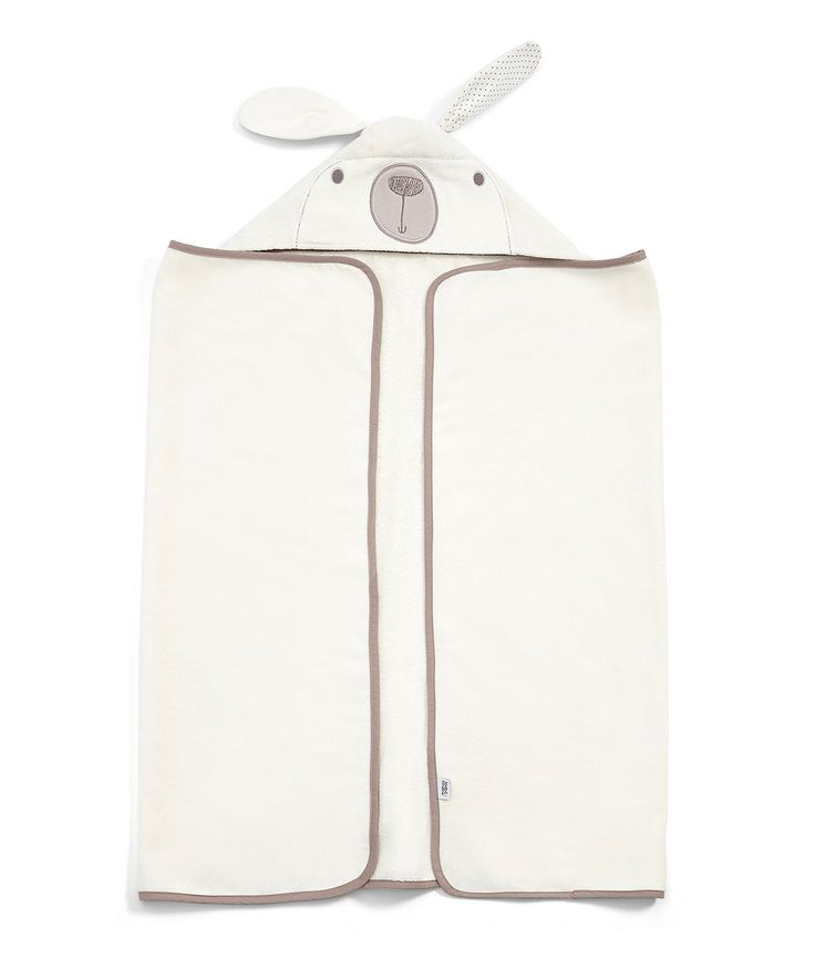 Mamas and Papas Millie and Boris Hooded Towel - towels & flannels - Mothercare
