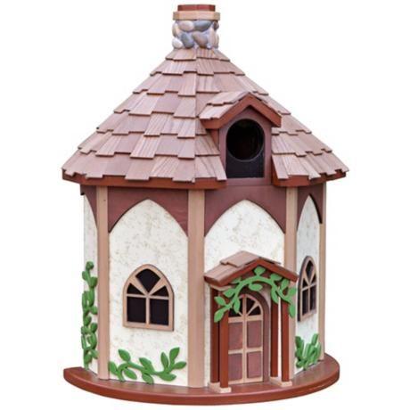 Yorkshire Cottage Birdhouse -