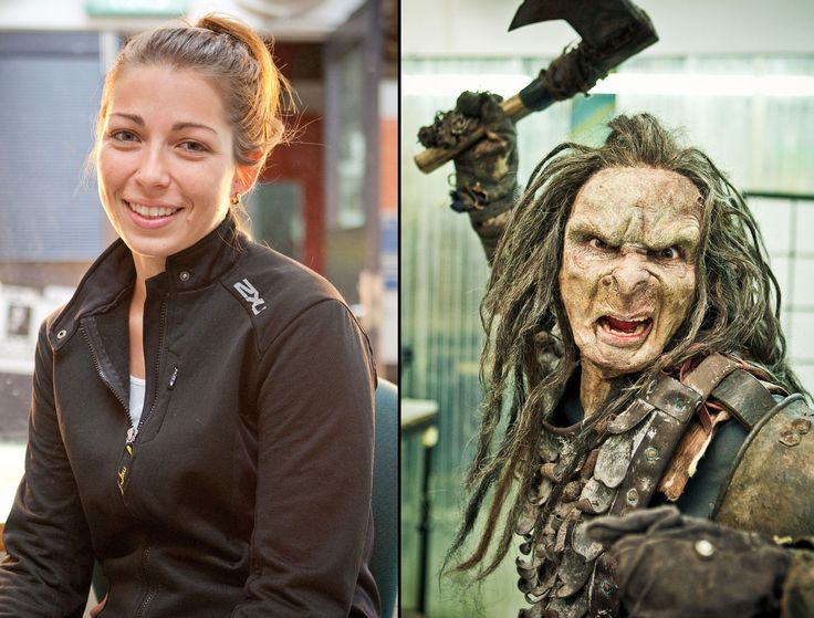 The Hobbit woman | ... Experience 01a Orcs from The Hobbit terrify Wellington, New Zealand