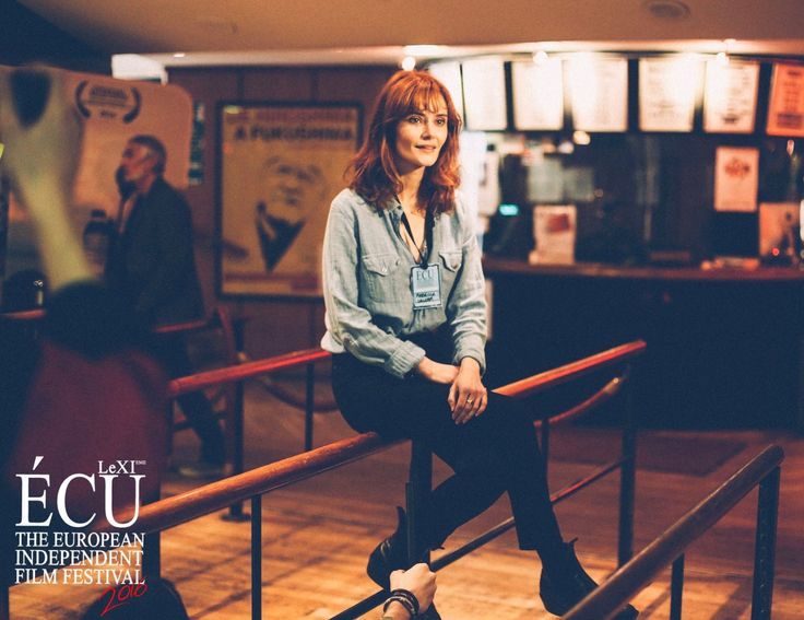 #rebeccacalder interview for #lovemedo #ÉCU #écuindependentfilmfestival2016 #bestactressaward