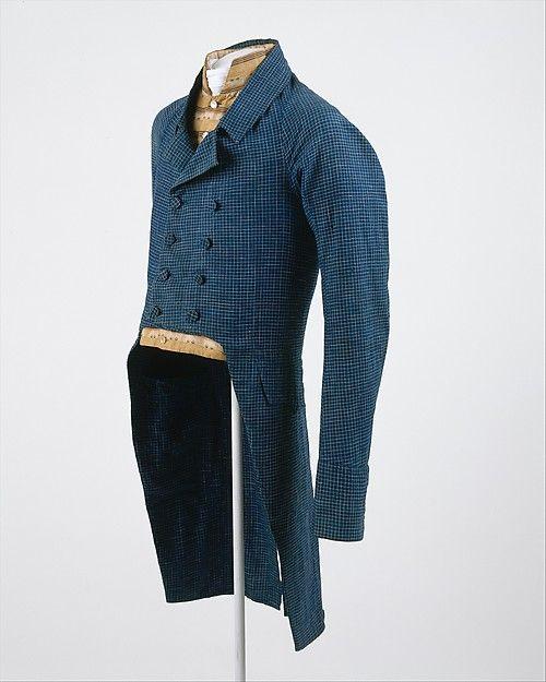 Coat, ca. 1815, American, Made of linen