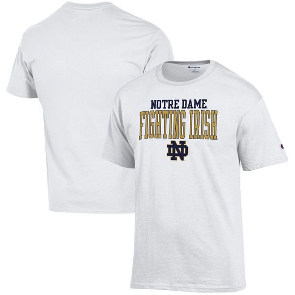 Notre Dame Fighting Irish Champion Core Mascot T-Shirt – White - $19.99