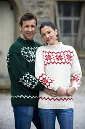 Ravelry: Snowflake Jumper for Adults pattern by Wendy Yarns
