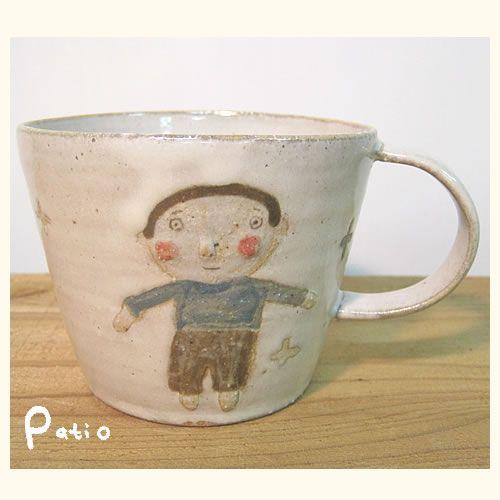 手作り陶器 マグカップ 4個セットの画像