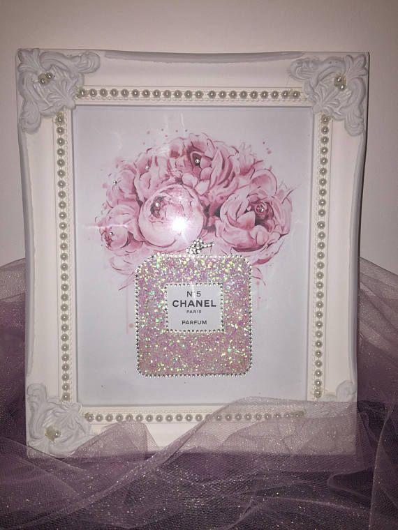 """** nouveau magnifique silver glitter sparkle glitz /& glamour cadre photo 4/"""" x 6/""""/"""" **"""