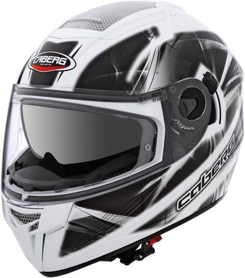 Caberg Ego Ultralight bianco-nero