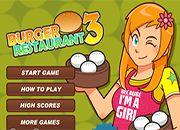Burguer Restaurant 3 | juegos de cocina - jugar online