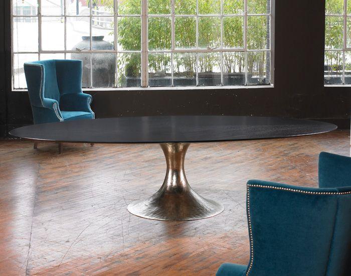 Antiques Nickel Chichester Dakota Dakota Oval Dining Room Tables