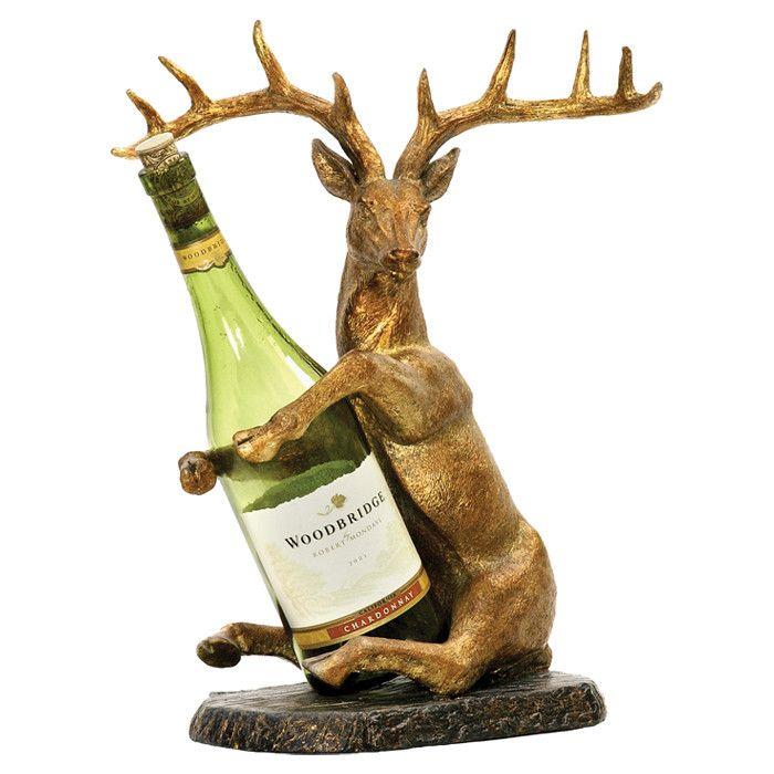 Deer Wine Bottle Holder