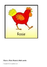 Rosie's Walk 15cm x 15cm cards