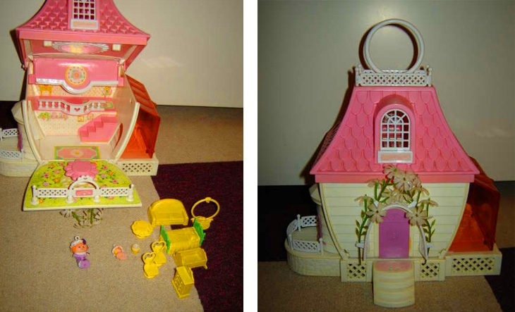 dit ding 'dufty huis' had ik ook. verwend kreng. en die poppetjes waren zooo klein.