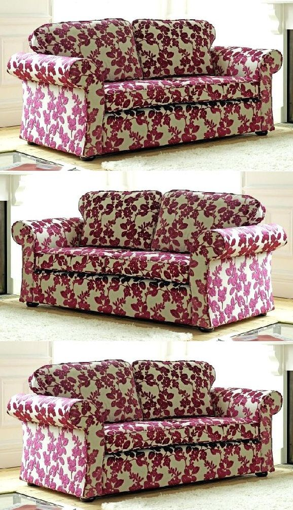 Floral Print Fabric Sofas Fabric Sofa Design Printed Fabric Sofa Fabric Sofa