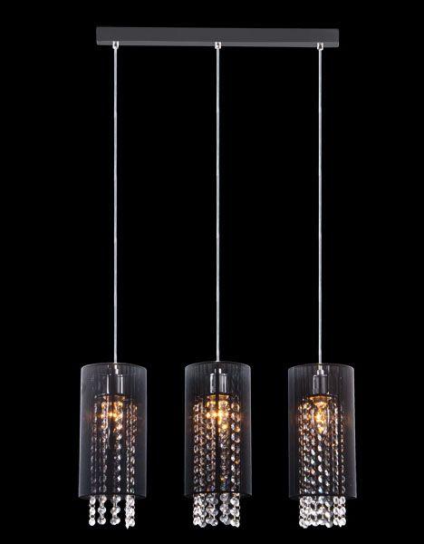 Lampa wisząca Paul 3p czarna - kryształ !!! (4385696480) - Allegro.pl - Więcej niż aukcje.