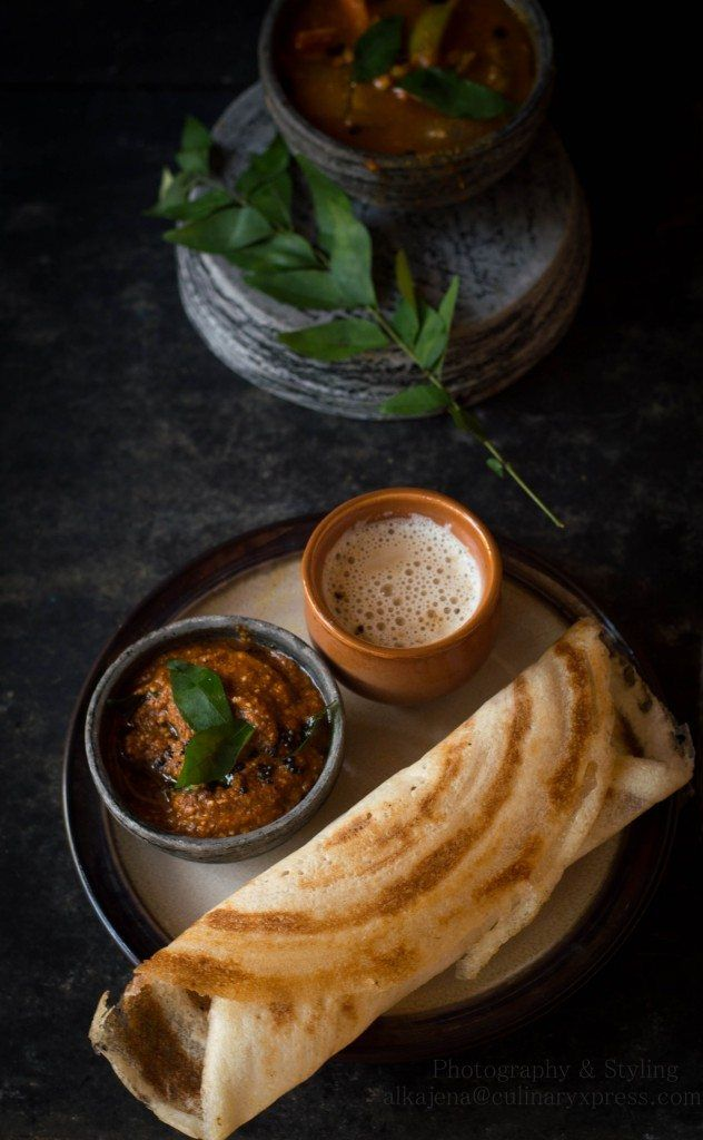 Dosa, chutney and sambar are quintessential South Indian breakfast that are loved by all.Making authentic, thin and golden crispy dosa can be a bit tricky. Culinary Xpress Crispy Paper Dosa- How To Make Crispy Dosa At Home http://www.foodiehalt.com/crispy-paper-dosa-make-crispy-dosa-home/