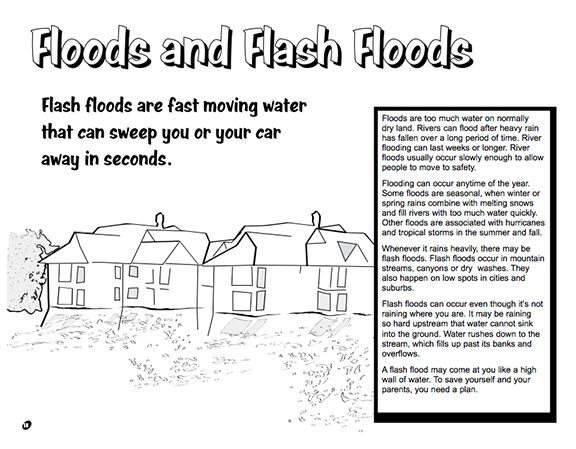 Here's a booklet for kids from the National Weather ...