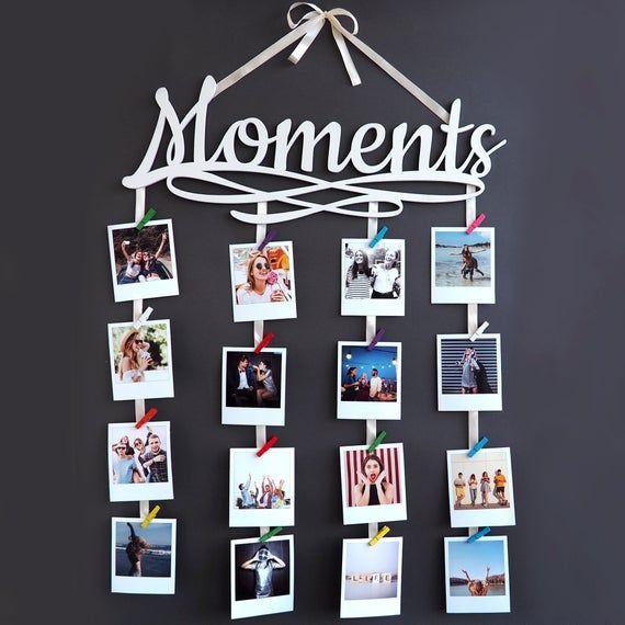 Photo Board Picture Board Photo Display Wedding Photo Board Wall Decor Memory Board Wedding Decor Bulletin Board Gifts Under 25 Wall Art Diy Easy Diy Photo Wall Wall Decor Memories