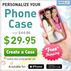 Personalized Phone Case $29.95 Shipped
