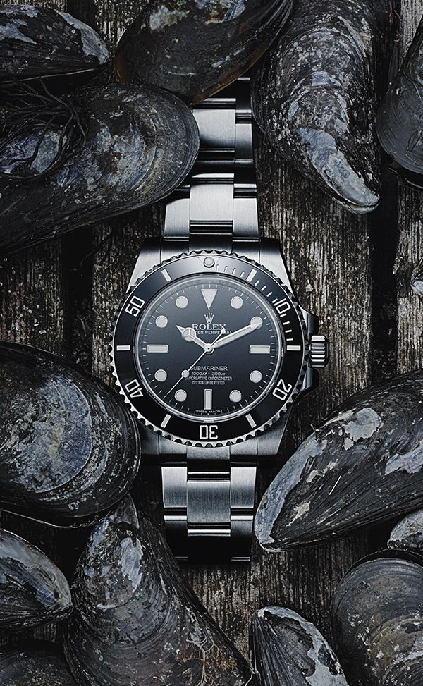 Swedish photographer Pelle Bergström interprets his vision of the Rolex Submariner with a quintessential Nordic touch.
