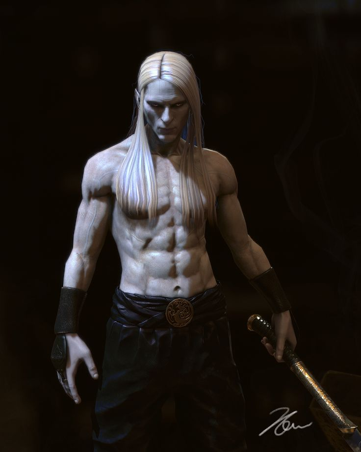 Hellboy II: The Golden Army - prince Nuada by coquelicot23.deviantart.com on @deviantART