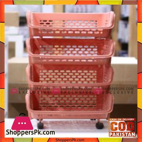 Buy Thailand Orange 4 Tier Basket Pb617 At Best Price In Pakistan Basket Orange Plastic Laundry Basket