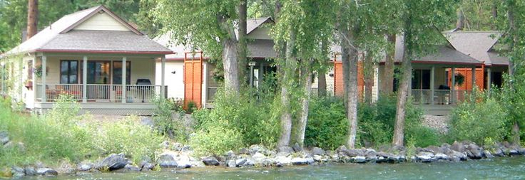Bridge Street Cottages • Luxury Cottages, Bigfork Montana  The perfect little getaway  Our vacation rentals are located on the edge of the village of Bigfork, where the Swan River flows into Bigfork Bay. It's an idyllic setting for our luxury cottages that are full of amenities and just a short stroll to the restaurants, galleries, shops and live theatre that have made the village of Bigfork one of the Northwest's premier destinations.