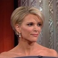 Megyn Kelly cute long pixie cut                                                                                                                                                                                 More