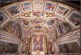 Santuario Madonna della Croce -Pietranico -Altare laterale