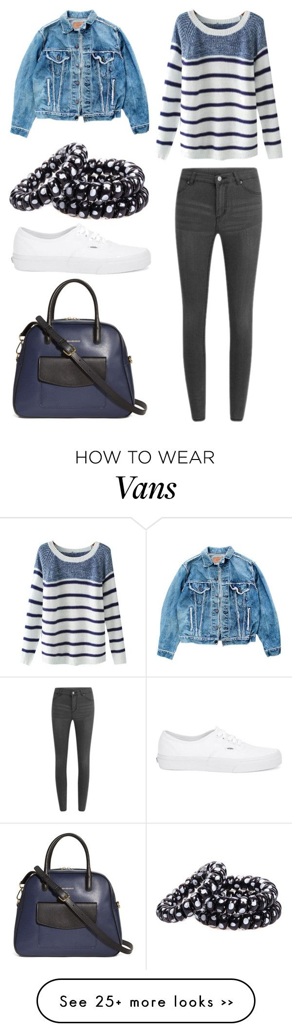 """""""Untitled #11675"""" by aavagian on Polyvore featuring Levi's, Chicnova Fashion, Cheap Monday, Vans and Vera Bradley"""