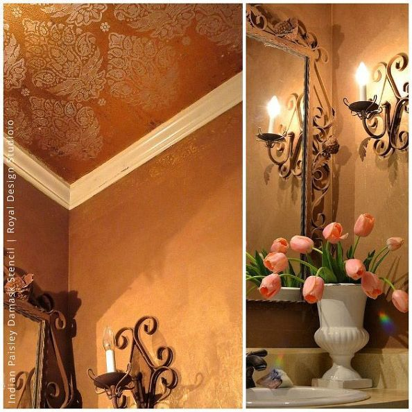 667 best images about painting ideas techniques on for Best brand of paint for kitchen cabinets with copper patina wall art
