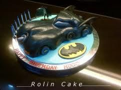 batman car 3D cake