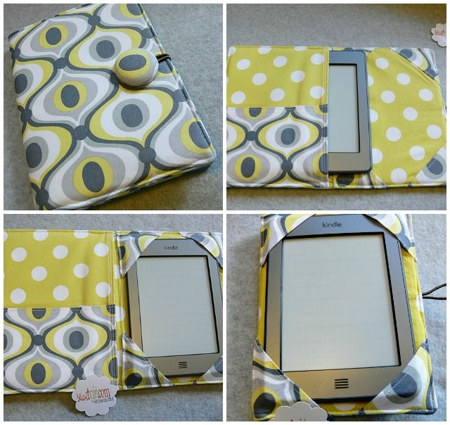 DIY tablet case... I wanna make one for my new tablet!
