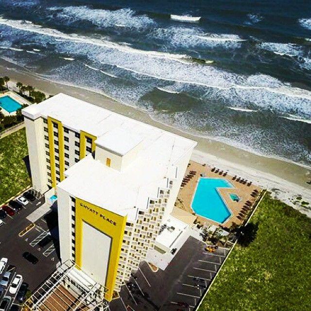 An awesome shot of Hyatt Place Daytona Beach.
