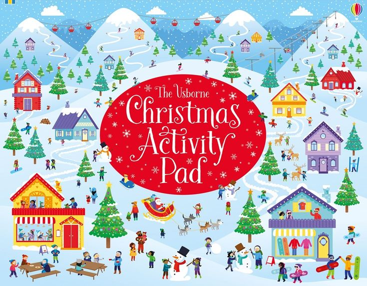 "Find out more about ""Christmas activity pad"", write a review or buy online."