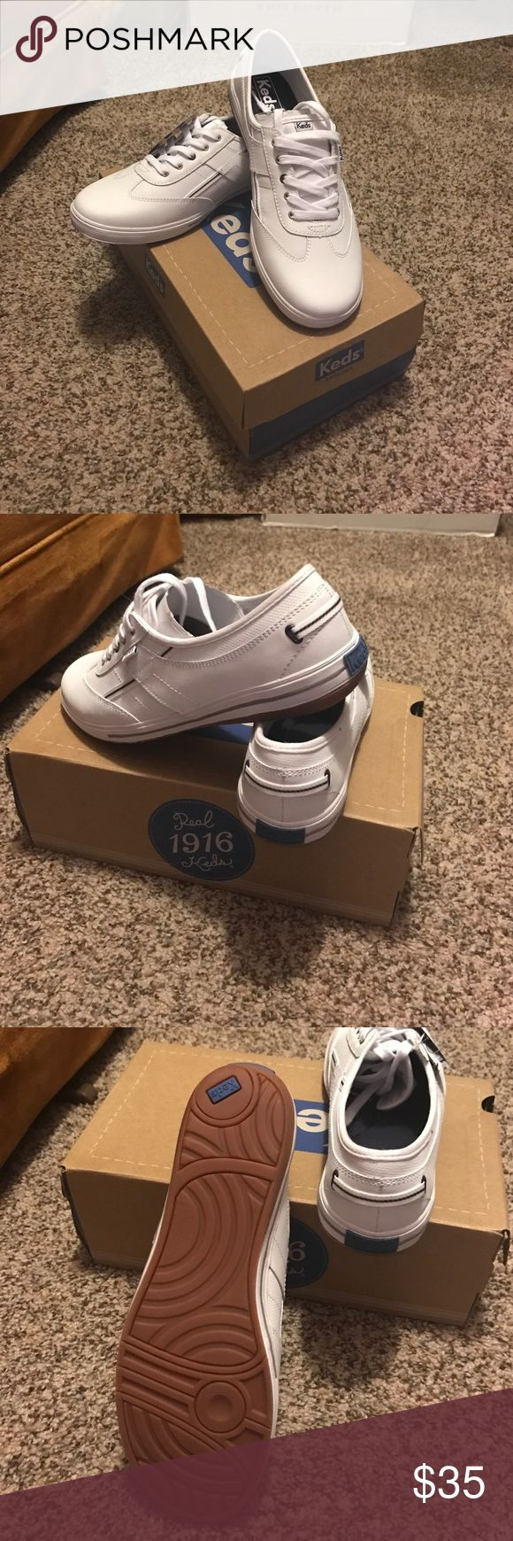 NWT Keds tennis shoes NWT less tennis shoes.Never worn obviously.Mom bought 2pairs 2different sizes and lost receipt for these.offers & trades welcome. Keds Shoes Flats & Loafers