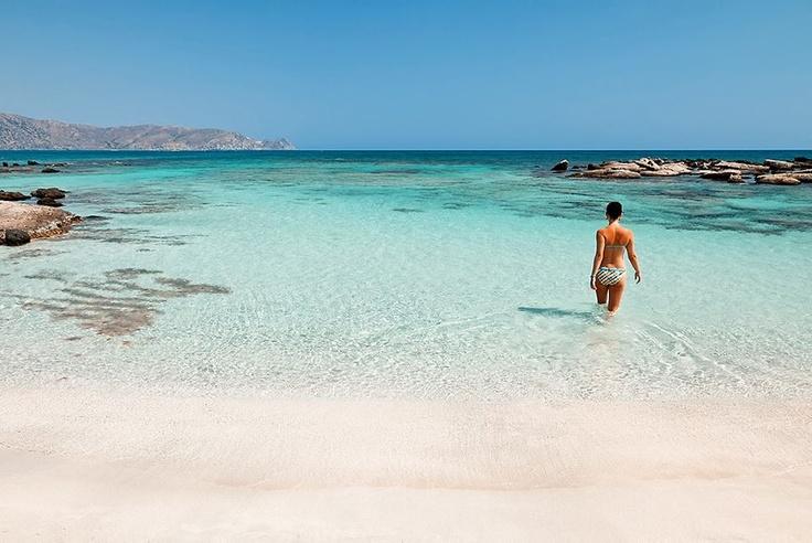 Elafonisi beach, Crete Island - Ellas