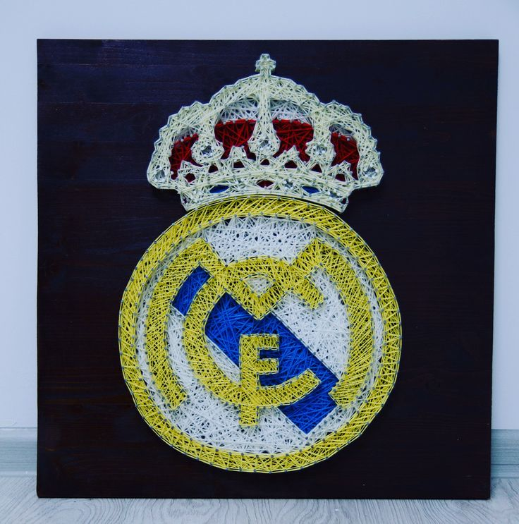 Real Madrid   50x50cm  #ARTEFACT  . . .  #stringart #instaart #craft #handcrafted #dailyart #handmade #realmadrid #football #best #team #wood #woodworking #creative #art #artwork #homedecor #decoration #gift #cadou