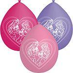Balloner med prinsesse motiver.