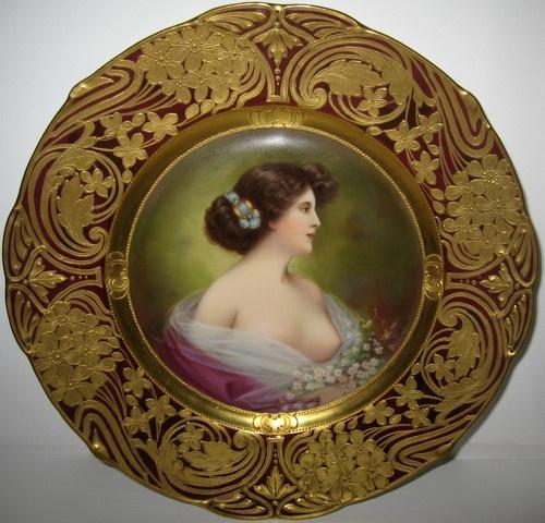 EGO Power+ 20-Inch 56-Volt Lithium-ion Cordless Lawn Mower - 5.0Ah Battery and Charger Kit. Plate ArtAntique ...  sc 1 st  Pinterest & 175 best Portrait Plates images on Pinterest | Decorative plates ...