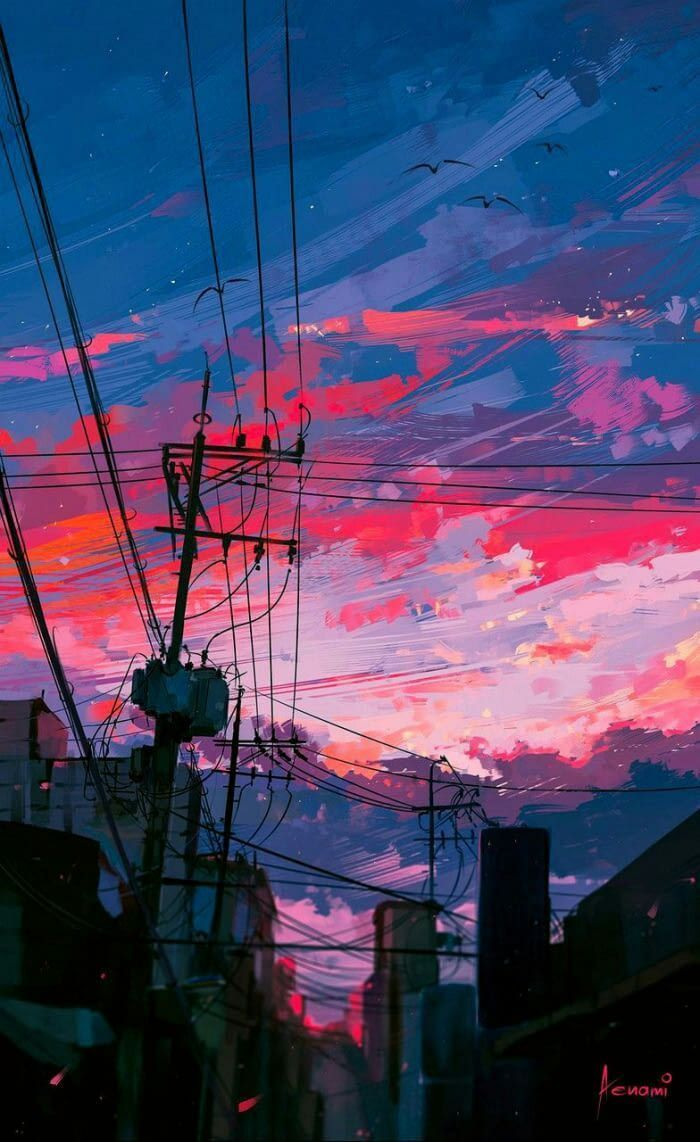 Asked Crush Out Was Expecting Rejection Turns Out She Actually Liked Me For A Long Time Now I Don T Know What To D In 2020 City Painting Aesthetic Art Anime Scenery