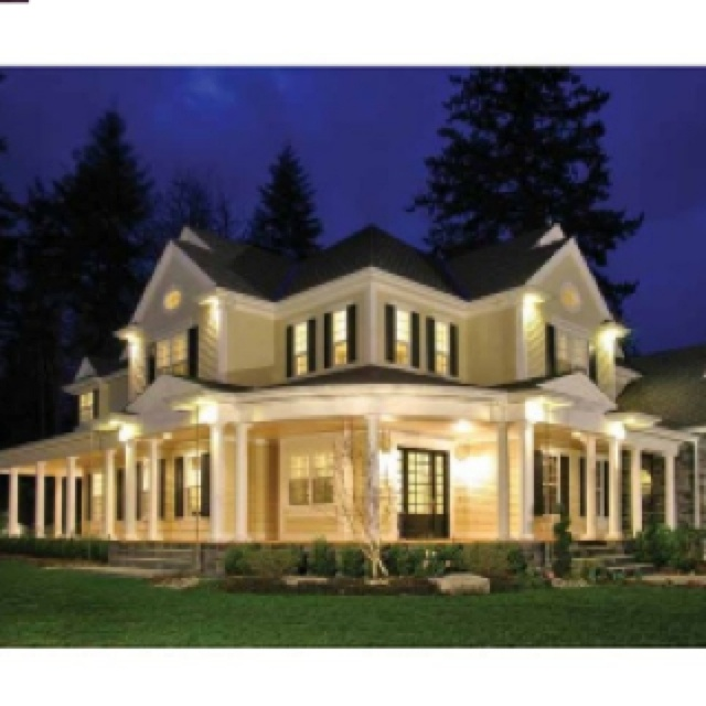 Cool House Plans With Porches All The Way Around Ideas - Image ...
