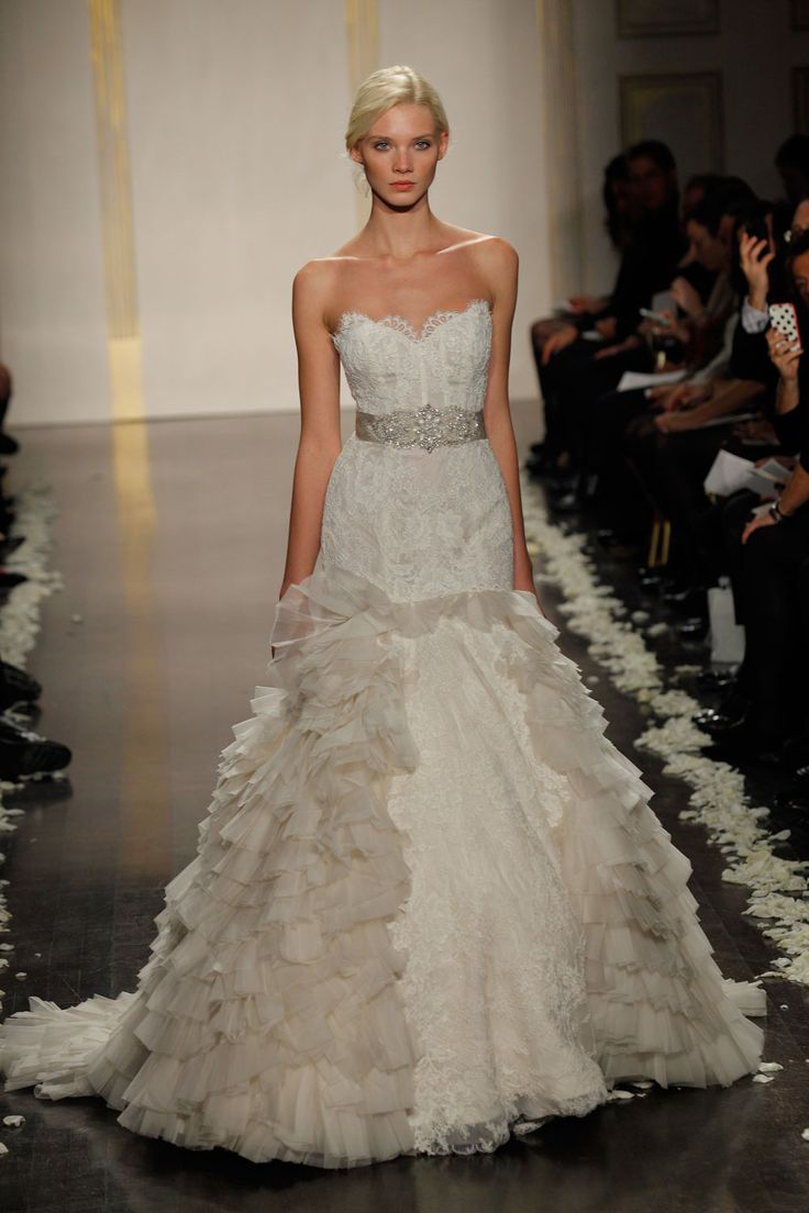 38 best Lazaro Wedding Gowns images on Pinterest | Bridal gowns ...