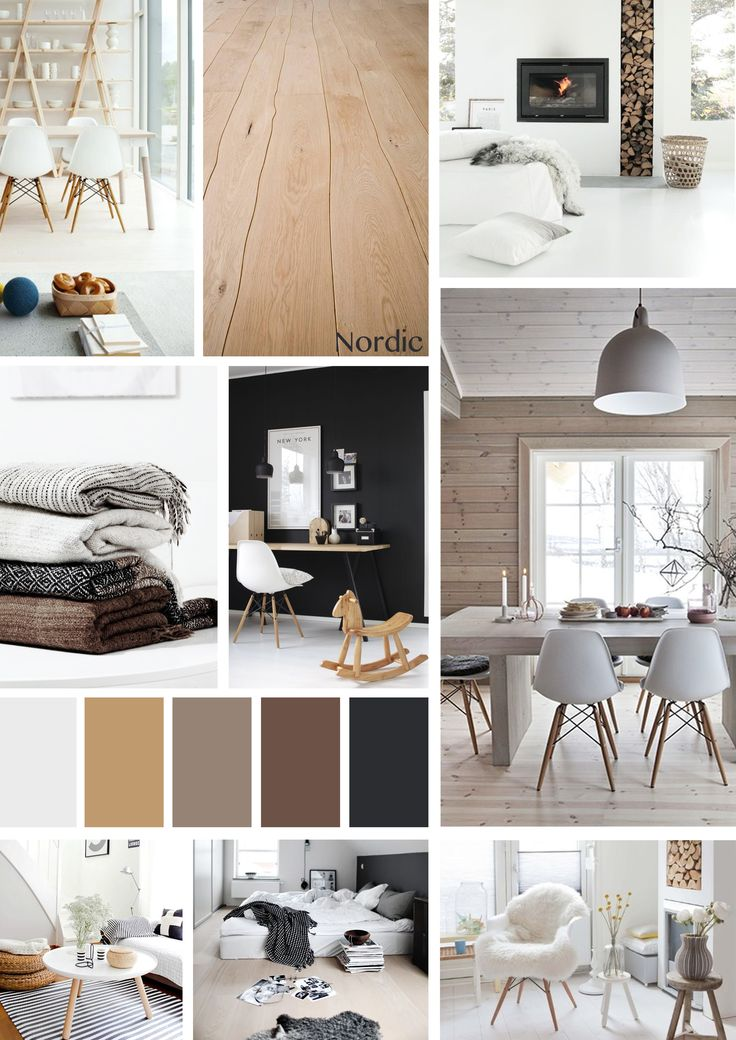 Moodboard Nordic Style, by me!