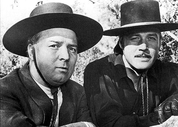 serie de los 70s El Zorro con Guy Williams