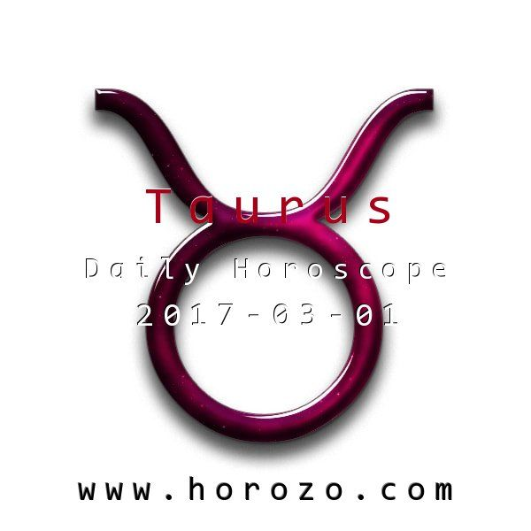 Taurus Daily horoscope for 2017-03-01: You may run into some trouble late in the day as your wary pace feels like a burden to your mate or a good friend, who is quite impatient. Try to get them to see the value of getting things done correctly. #dailyhoroscopes, #dailyhoroscope, #horoscope, #astrology, #dailyhoroscopetaurus