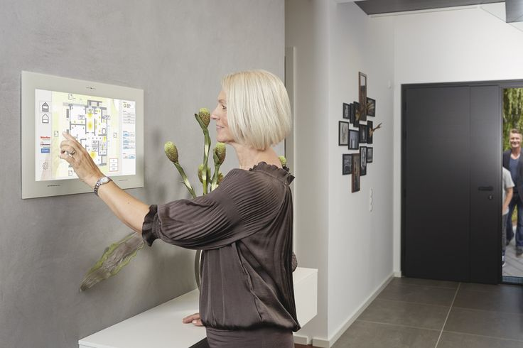 #smarthome #touchpanel #myhomecontrol #enocean #haussteuerung #hausautomation #weberhaus #Fertighaus #holzbauweise