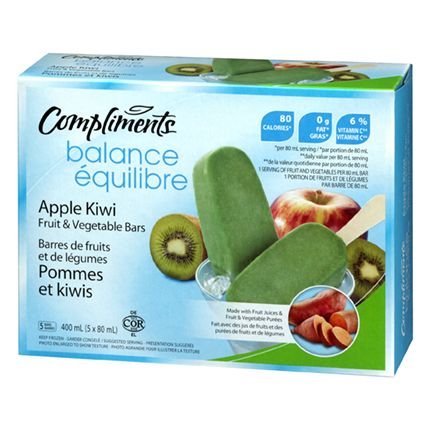 SOBEYS INC. / Compliments Balance Fruit & Vegetable Bars
