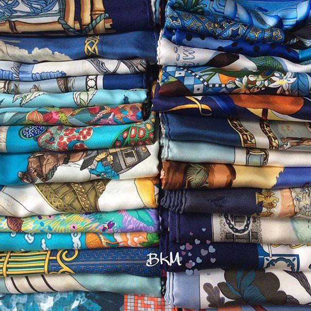 Hermès scarves <3