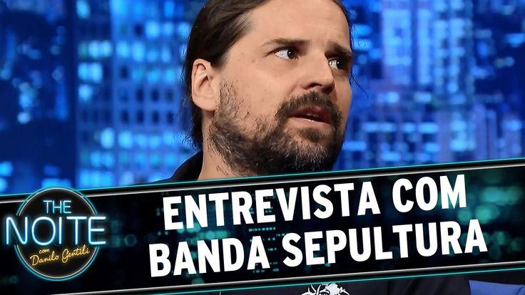 The Noite (19/06/15) - Entrevista com a banda Sepultura