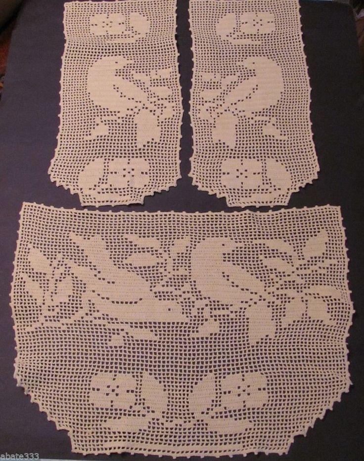 1135 Best Filet Crochet Images On Pinterest Filet Crochet Crochet