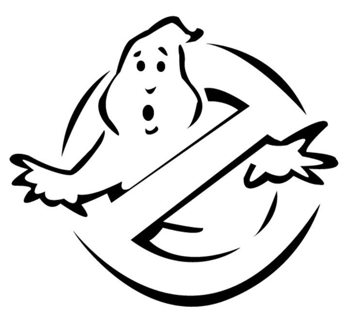 Ghostbusters logo pumpkin halloween pinterest